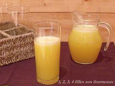 Jus de fruit Citron - Orange (recette Thermomix)