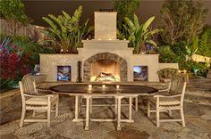 Southwestern Backyard FireplaceOutdoor FireplaceSummit Services, Inc ...