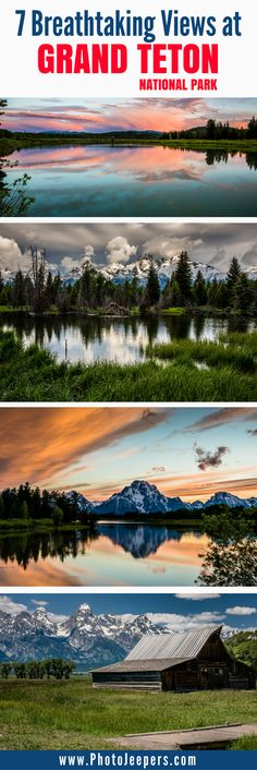 Grand Teton National Park is a breathtaking mountain getaway in Wyoming, USA. Every direction you look, you will be blown away by the incredible beauty of nature. Though the whole park is beautiful, we will share our favorite spots to take pictures in Grand Teton National Park. Make sure you stop at this beautiful park if you make a trip to Yellowstone National Park in Wyoming. Don't forget to save these best places to take pictures in Grand Teton National Park to your travel board so you…