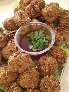 Sesame Meatballs | Official Thermomix Recipe Community