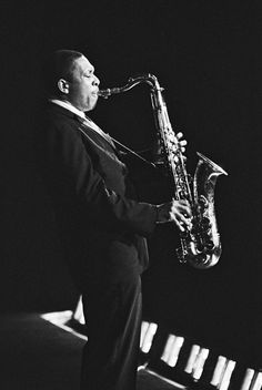 "The Religious Experience of John Coltrane's ""A Love Supreme"" — Cuepoint — Medium Jazz Artists, Jazz Musicians, Music Love, My Music, Reggae Music, A Love Supreme, Jazz Radio, Sonny Rollins, Saxophone Players"