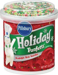 Funfetti 174 Vibrant Green Vanilla Frosting Pillsbury