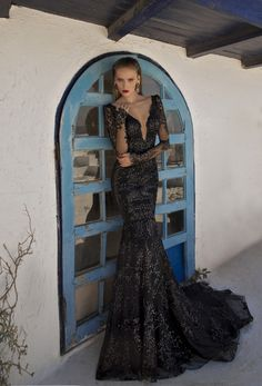 Galia Lahav Moon Struck Evening Gown Collection   28