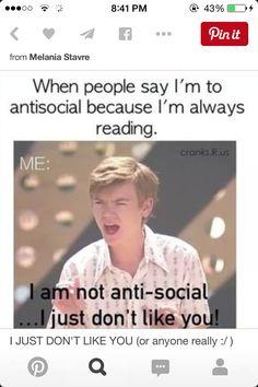 I just don't like u!!