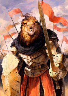 Lion-headed Knight