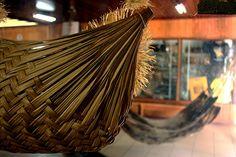 Trabalhos artesanais feitos com palhas e outros materiais locais podem ser encontrados nos centros de artesanato localizados em Boa Vista, Roraima MAIS Eduardo Vessoni/UOL