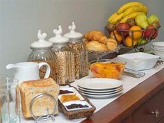 Magnolia Rose Bed and Breakfast Christchurch - Continental Breakfast