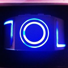 TRON Blue LED Watch  http://www.coolgizmotoys.com/2013/11/tron-uprising-toys.html