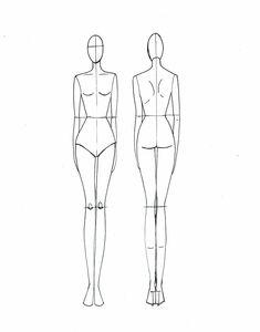 173 Mejores Imágenes De Vestidos Creatividad Drawing Fashion