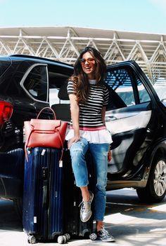 Luiza Sobral look aeroporto