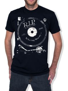 R.I.P. TECHNICS 1200 tee design ...... A global brand of apparel and merchandise inspired by the late nights, djs, music, and fashion of the electronic dance music community worldwide ..... www.jojoelectroclothing.com