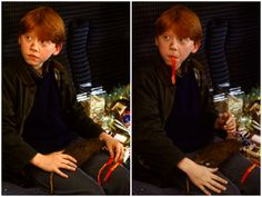 """""""Rupert Grint is just a genius. I don't think anyone ever needed to tell Rupert how to play Ron."""" ~ JK Rowling  #RupertGrint #HarryPotter  #RonWeasley  #JKRowling"""