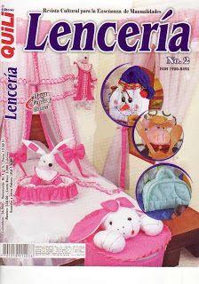 Revistas de Manualidades Para Descargar: Quili Lenceria Nº 2