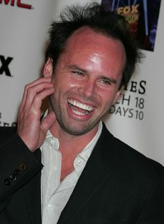 Walton Goggins ~ oooh, he is sooo good at playing the bad boy!  Fabulous actor.  One of my favorites.