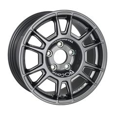 """EVO Corse OLYMPIA Corse - Heavy Duty Gravel Rally  OlympiaCorse is the wheel for gravel rally with a strength/weight ratio at the top of it's class.  The wheel design has been developed in order to have material only where necessary, removing any needless detail: technology and essentiality for maximum performance.  The rim contour allows the use of the largest multi-piston brakes, easing the tire mounting.  OlympiaCorse is vailable in 15"""" for the heaviest duty on gravel, while the 16""""…"""