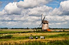 """by Fabrizio Fenoglio    """"Nederland is quite famous for the windmills and Zaanse Schans area is one of the best places where you can see many of them along the canal. It is a touristic place, but you can get some nice shoot of those colored word icons."""""""