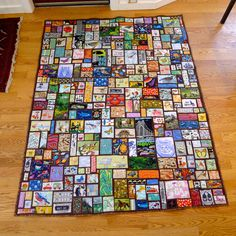 """twin sized ticker tape """"I spy"""" quilt Boy Quilts, Scrappy Quilts, Batik Quilts, Jellyroll Quilts, Quilting Projects, Quilting Designs, Quilting Ideas, I Spy Quilts Ideas, Sewing Projects"""