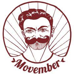 Visuel pour le t-shirt Movember Illustration de Anne HB, ©www. Movember, Illustration, Darth Vader, Thankful, Mens Tops, T Shirt, Fictional Characters, Drawing Drawing, Supreme T Shirt