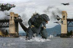Real Godzilla Pictures | Tall Bridge