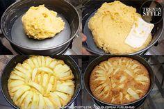 Bakken. Eén van de lekkerste recepten voor appeltaart (ook in light versie) | TRENDYSTYLE Dairy, Cheese, Desserts, Food, Meal, Deserts, Essen, Hoods, Dessert