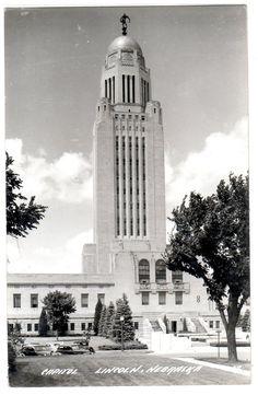 Nebraska State Capitol 1940u0027s