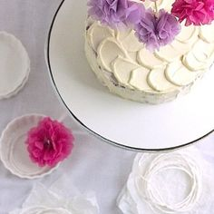 By far one of my most favorite cakes! Purple Sweet Potato Cake with Cream Cheese Frosting