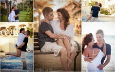 """A few shots from Jessy & Jarred's pre-wedding day """"engagement"""" session - Varadero, Cuba. These two were such a dream to work with, I'd do it all again in a heartbeat! #engagementphotography"""