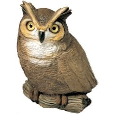 Sandicast Original Size Owl Sculpture by Sandicast. $45.26. Designed by world-renowned animal sculpture artist sandra brue; animals are available in several sizes and a variety of sizes and poses; Extraordinarily life-like owl; strikingly realistic and remarkably expressive; Original size sculpture measures 6 by 4 by 7-inches; beautifully conceived and meticulously crafted; Every Sandicast sculpture is hand cast and carefully hand painted with uncompromising attent...