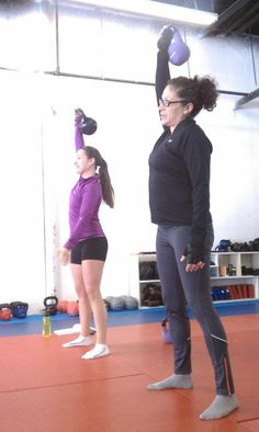 kettle bells...I recommend this workout - you will see results!