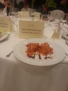 El menú es la parte más importante de tu banquete de bodas, por eso nuestros chefs crean platos de alta cocina para que puedas ofrecer lo mejor a tus invitados. #PradodelArca #Talavera #TalaveradelaReina #Bodas #Eventos #Catering #Comida #Celebraciones #CateringEventos #CateringBodas #Entrante #Food #Starter #PimientosdelPiquillo #PiquilloPeppers #Weddings