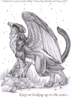 Nambroth by BloodhoundOmega Gryphon griffin