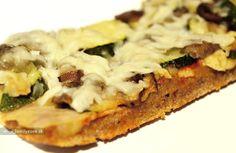 Výborná domáca pizza zo špaldovej múky – recept