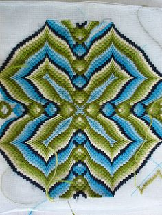 bargello needlepoint content tagged with bargello Broderie Bargello, Bargello Needlepoint, Bargello Quilts, Needlepoint Pillows, Needlepoint Designs, Needlepoint Stitches, Needlework, Embroidery Needles, Cross Stitch Embroidery
