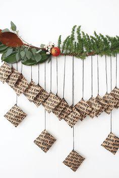 DIY Printable Advent Calendar @idlehandsawake