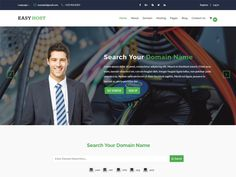 Easyhost is a Hosting Free HTML Template. It is suitable for domains, domain registration, hosting, shared web hosting, web hosting, web site, website design, website hosting.With all it's features you can build something great.