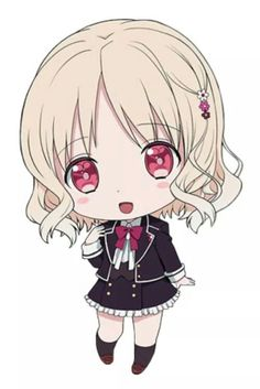 Komori Yui - chibi ^^