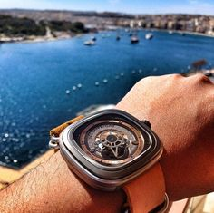 SevenFriday P2 with a view...