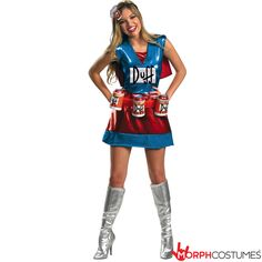 Sexy Halloween Costumes for Women, 2019 Adult Halloween Costume Ideas Simpsons Costumes, Simpsons Halloween, Funny Costumes, Sexy Halloween Costumes, Adult Halloween, Adult Costumes, Costumes For Women, Halloween Ideas, Couple Halloween