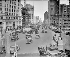 Michigan Avenue #1929 #Chicago Daily News