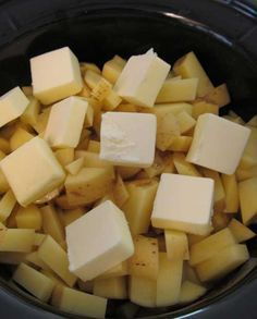 Recipe for Mashed Potatoes in a Crock Pot – life changing! - I loved them because not only were they delicious – they were also so easy to make.