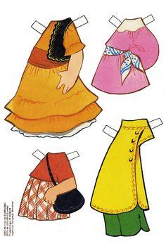 Las Recortables de Veva e Isabel: Ana.Modelos Recortables de María Pascual
