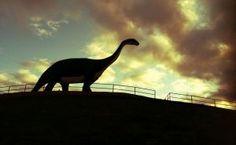 loveosaurus! Dinosaur Hill in Rapid City SD