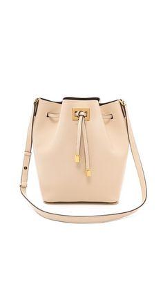 Michael Kors Collection Large Miranda Drawstring Bag