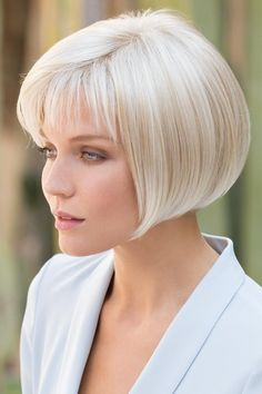 We Offer Short Grey Bob Wig with Fringe Synthetic Hair With Lowest Price, All Style Wigs Save Up To Off. Wavy Bob Hairstyles, Trending Hairstyles, Natural Hairstyles, Long Haircuts, Simple Hairstyles, Pretty Hairstyles, Short Hair Cuts, Short Hair Styles, Bob With Bangs