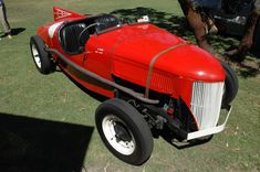 Western Australia's original flathead Ford racing replica created by Max Gamble and Clem Dwyer Ford V8, Western Australia, Antique Cars, Racing, The Originals, Antiques, Vehicles, Red, Vintage Cars