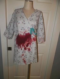 Sidney Prescott Bloody Hospital Gown
