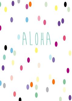 Aloha | Flickr - Photo Sharing!