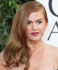 Isla Fisher Hairstyle: Formal Long Straight Hairstyle