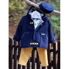 Κουστουμάκι βάπτισης Χειμερινό Mi Chiamo πλήρης-βαμβακερό σετ με παντελόνι, πουκάμισο, μπουφάν και καπέλο, Χειμωνιάτικο βαπτιστικό κουστουμάκι οικονομικό, Χειμερινά βαπτιστικά ρούχα αγόρι τιμές, Χειμωνιάτικα ρούχα βαπτιστικά για αγόρι προσφορά Boy Christening, Boy Outfits, Rain Jacket, Windbreaker, Boys, Jackets, Clothes, Style, Fashion