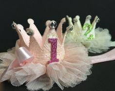 SALEFirst Birthday Hatgold birthday hat1st birthday by ChloeStudio